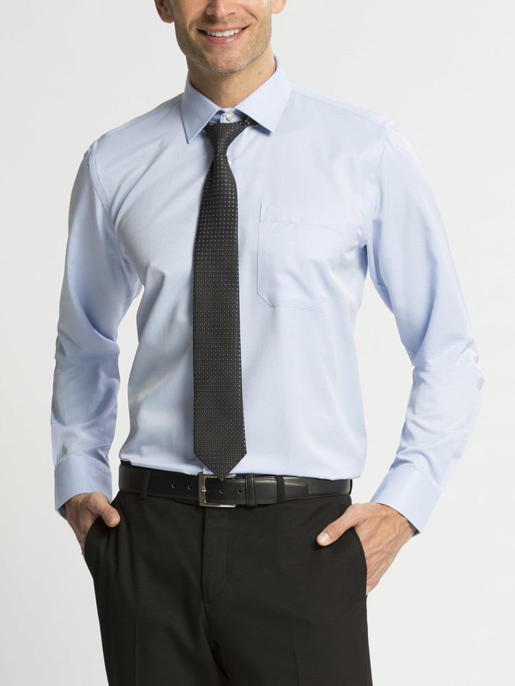 16-78 Мужская рубашка / lc waikiki / чоловічий одяг / школьная форма фото №1