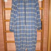 Пижама флисовая, мужская, размер S, рост до 178 см