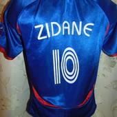 Спортивная раритет фирменная футболка футбольная adidas зб .Франции Зидан