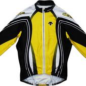 Велосипедка велокофта с карманами теплая на молнии Descente m s