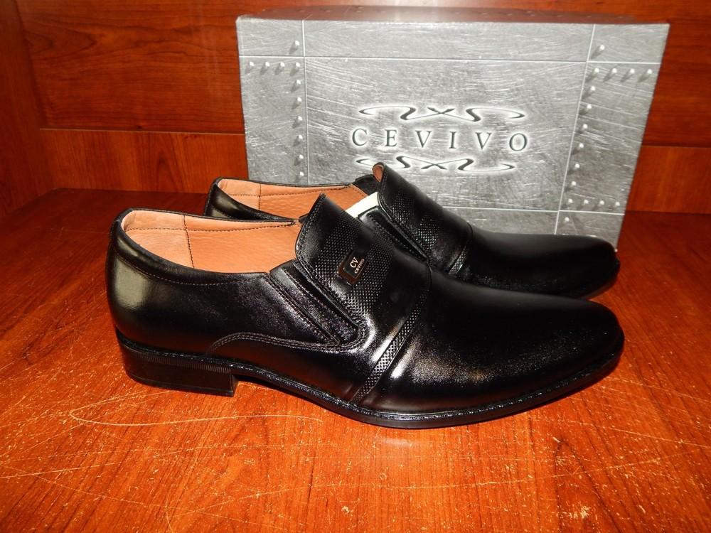 Мужские кожаные туфли cevivo 43-44р., цена 720 грн - купить Туфли ... 3bdfbaaa146