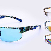 Велоочки солнцезащитные (спортивные очки) Хаки LX9904: 4 цвета