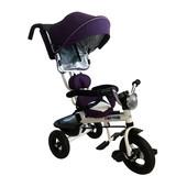 Велосипед трёхколёсный с ручкой Kids Tour Babyhit Китай фиолетовый 12115573