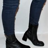 Ботинки 39 р. Janet D. США кожа, оригинал, демисезон.