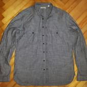 Рубашка хлопковая от burberry brit! p.-l ! оригинал!