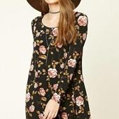 Моднейшее  женское платье клеш , новое с биркой  forever размер м