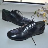 Брендовые туфли Ubik на 36-36,5р.Цвет графит. Идеал.