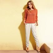 Стильные летние брюки на манжетах размеры Tchibo Германия