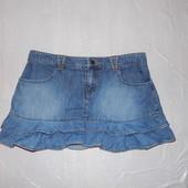 M-L, поб 48-50, юбка джинсовая So классическое мини