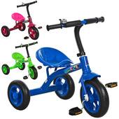 Трехколесный велосипед Bambi (M 3252) с колесами Eva Foam
