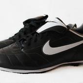 Кожанные бутсы Nike versatract. Размер 38