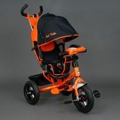 Бест Трайк Фара 6588В надувные колеса трехколесн Best Trike, ключ зажигания