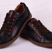 Мужские кожаные туфли Levi's