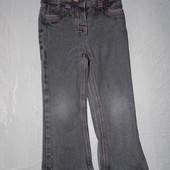 р. 98-104, 3-4 года, модные джинсы бойфренды для девочки