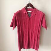 Мужская футболка бордо S