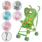 Детская прогулочная коляска-трость Bambi  M 1702