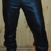 Стильние кожание брендовие брюки  Heine.л-хл 52
