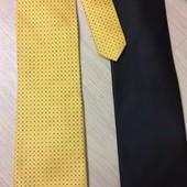 Два брендовых галстука  Pierre Cardin