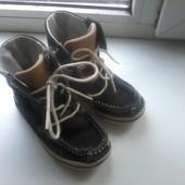 Демисезонные замшевые ботиночки Timberland, оригинал 24 р.