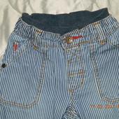джинсы в полоску
