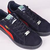 Puma и Nike, Reebok кеды кроссовки Натуральный замш