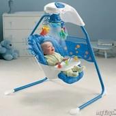 Детское кресло-качеля Fisher Price Аквариум