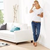 Классные и комфортные джинсы Girlfriend, denim, евро р-р 40(наш 46), tcm, tchibo, Германия