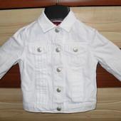 Джинсовая куртка H&M на 12-18 мес.86 см рост