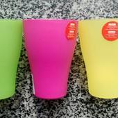 Пластиковые стаканы Алеана 0,25л и 0,5л