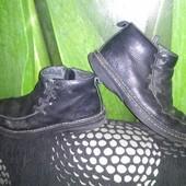 Ботинки кожа, 39-40р