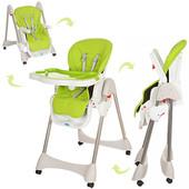 Детский стульчик для кормления Bambi M 3216, салатовый
