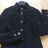 Стильное фирменное пальто черного цвета h&m S