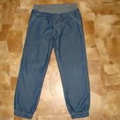 утепленные х/б подкладкой джинсы Benetton 5-6 лет xs Италия как новые !!!