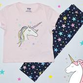 Трикотажные пижамы для девочек от 1,5 до 13 лет, Primark