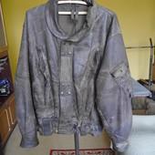 Куртка шкіряна на 52-56 розмір