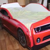 Кровать машина (от 2-х до 12 лет)