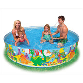 Детский каркасный бассейн Intex 56453 Океанский риф
