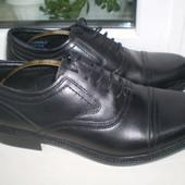 класические туфли броги ( Оксфорды) George Oliver кожа р.7 , 27.5 см