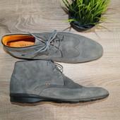 (44р./30см) Van Lier (Голландия)! Кожа! Супер-комфортные ботинки, туфли