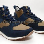 Высокие ботинки, хайтопы Golderr, нат замша, р. 42,44,45