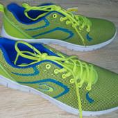 Мужские кроссовки сине зеленые John Smith размер  40, 43