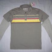 Новая Quicksilver (M) Double Sleeve polo кофта мужская