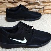 Кроссовки черные мужские, Nike (фейк)