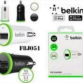 Автомобильное зарядное устройство Belkin 2.1A белый / черный