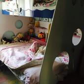 2-х ярусная деревянная кровать. Италия