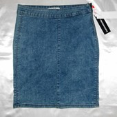 Юбка джинсовая, варенка, стреч C&A
