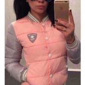 Женская куртка-бомбер. Новинка р-ры 42,44,46,48