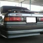 Крышка багажника на Мазда 929.
