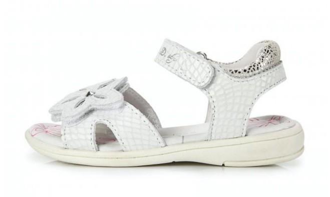 df93b47e1 Кожаные нарядные босоножки dd step 29р. летняя обувь девочке., цена ...