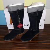 Hush Puppies новый оригинал кожаные сапоги ботинки размер 38 25,5 см